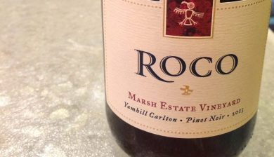 2013 ROCO Winery Marsh Estate Vineyard Pinot noir