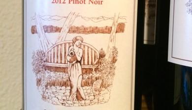 2012 D'Anu Wine Maker's Reserve Pinot noir