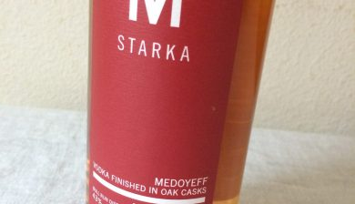 Bull Run Distilling Co. Medoyeff Starka vodka