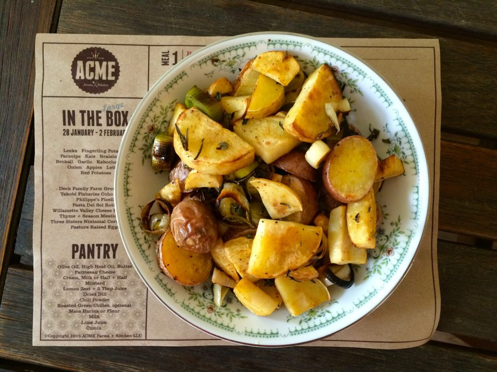ACME Farms + Kitchen roasted veggies