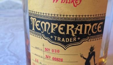 Bull Run Distilling Co. Temperance Trader Straight Bourbon Whiskey