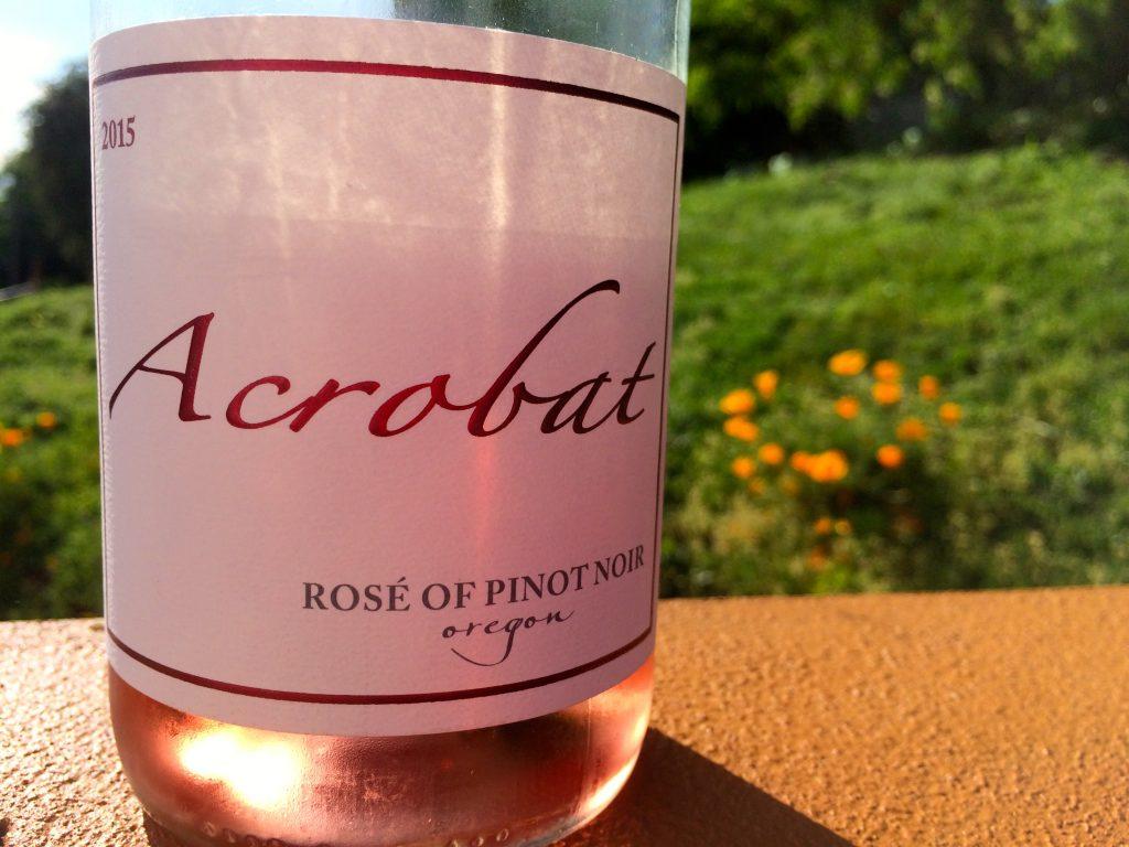 2015 Acrobat Rosé of Pinot noir