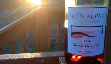 2014 Bryn Mawr Rosé of Pinot noir