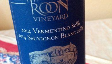 2014 Troon Vineyard Vermentino-Sauvignon White Blend