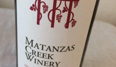 2015 Matanzas Creek Winery Sauvignon blanc