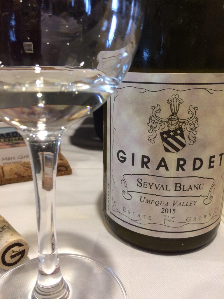 2015 Girardet Serval blanc