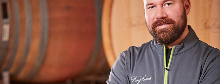 Brent Stone of King Estate Winery
