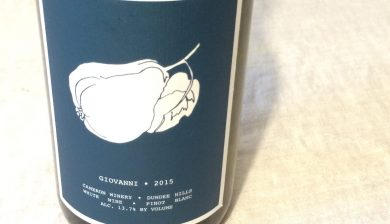 2015 Cameron Winery Giovanni Pinot blanc