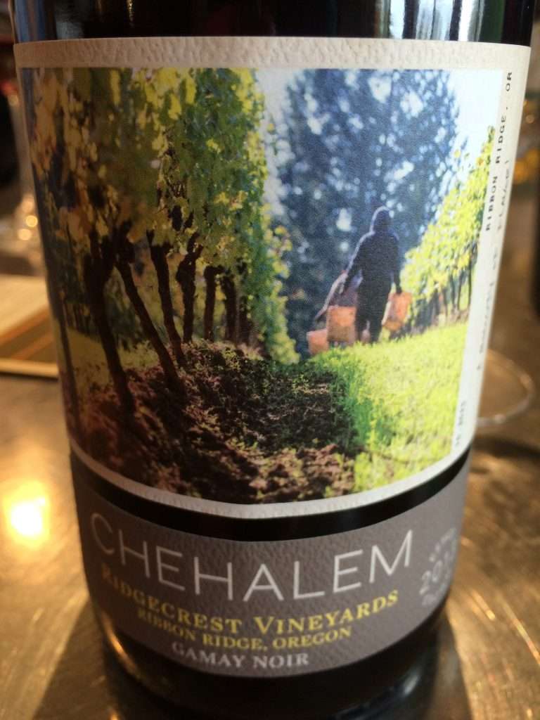 2013 Chehalem Ridgecrest Vineyard Gamay noir
