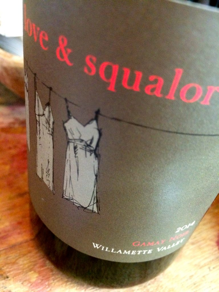 2014 Love and Squalor Gamay noir