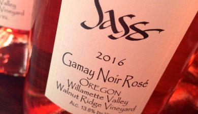 2016 Sass Winery Gamay noir rosé