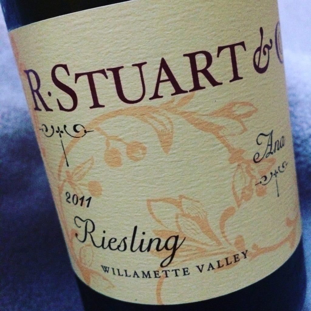 2011 R. Stuart & Co. Ana Vineyard Riesling