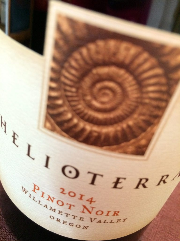 2014 Helioterra Willamette Valley Pinot noir