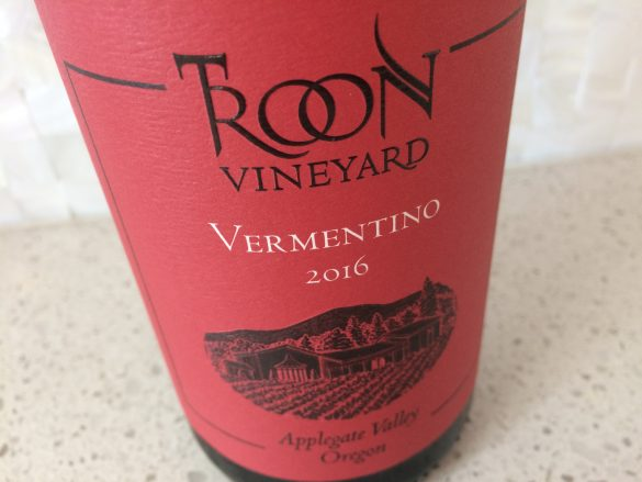 2016 Troon Vineyard Vermentino